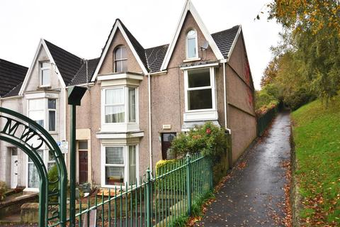 4 bedroom semi-detached house for sale - The Grove, Uplands, Swansea
