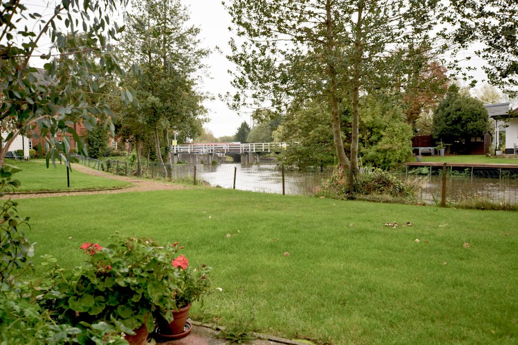 Grounds view to river