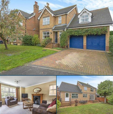 4 bedroom detached house for sale - Thorpeside Close, Staines-Upon-Thames, TW18