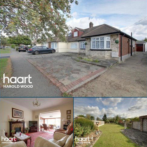 2 bedroom bungalow for sale - Thorndon Avenue, West Horndon, CM13 3TS
