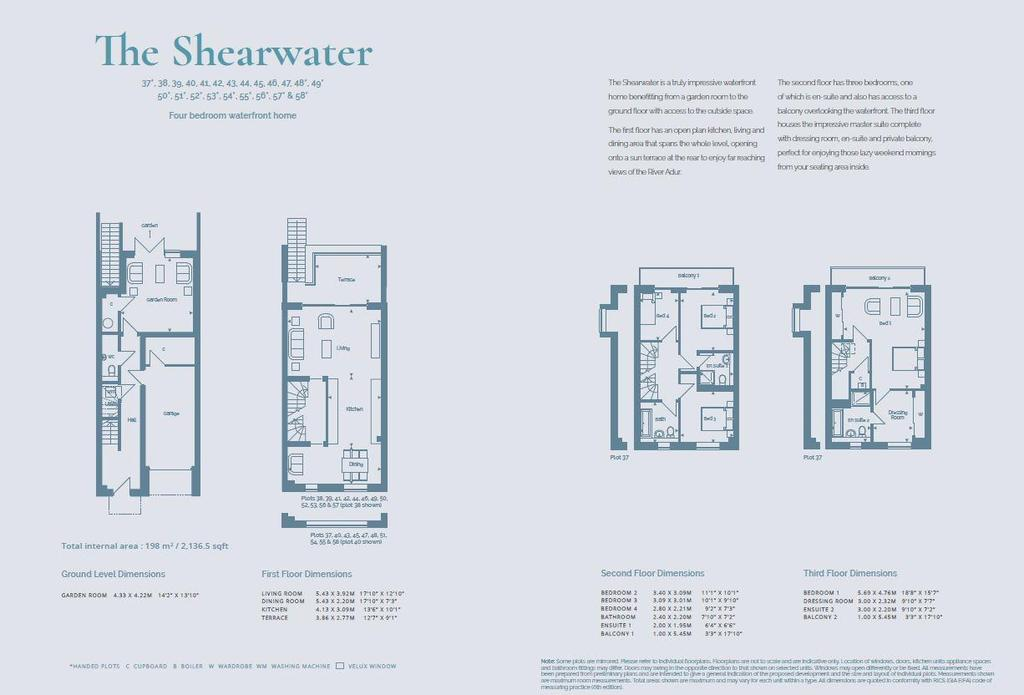 Floorplan: The Shearwater