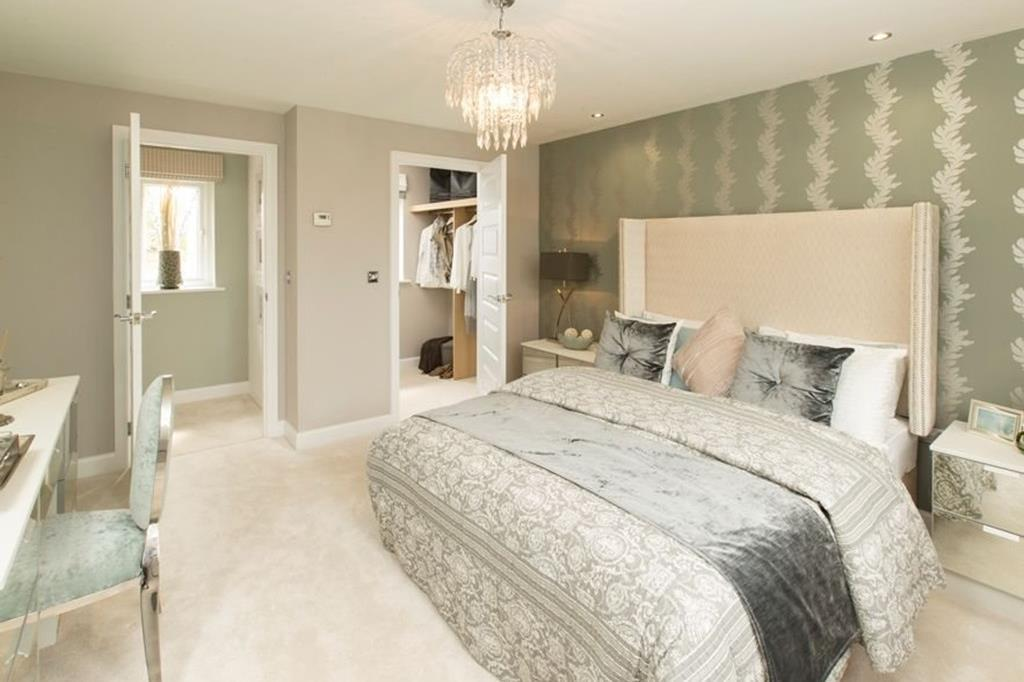 Alnwick master bedroom