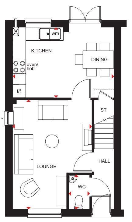 Floorplan 1 of 2: Finchley ground floor