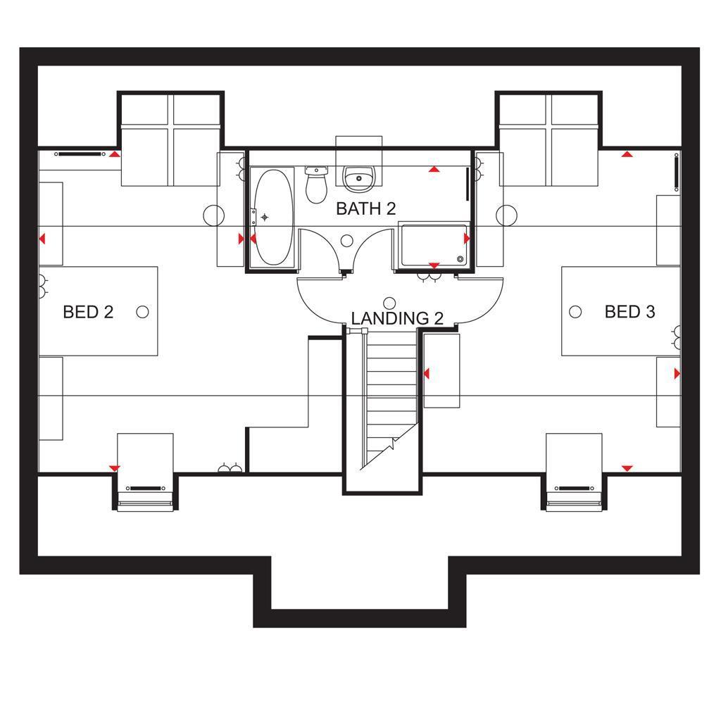 Floorplan 3 of 3: Lichfield SF