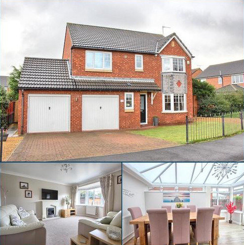 4 bedroom detached house for sale - Herne Close, Redcar