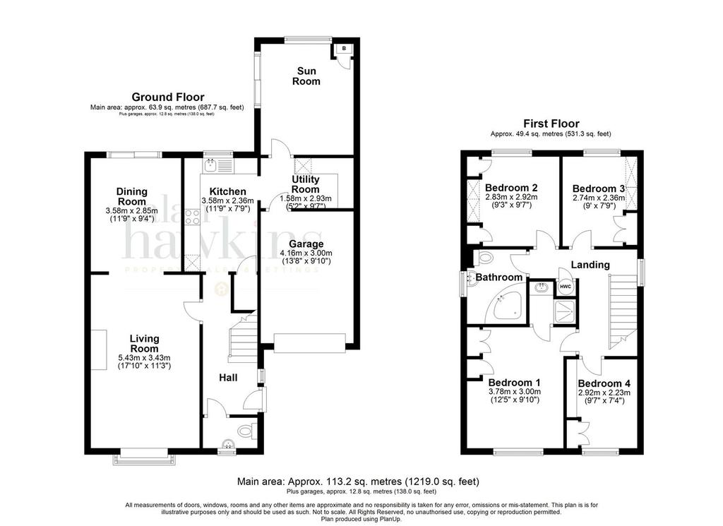 Floorplan 1 of 2: Floorplan 2d