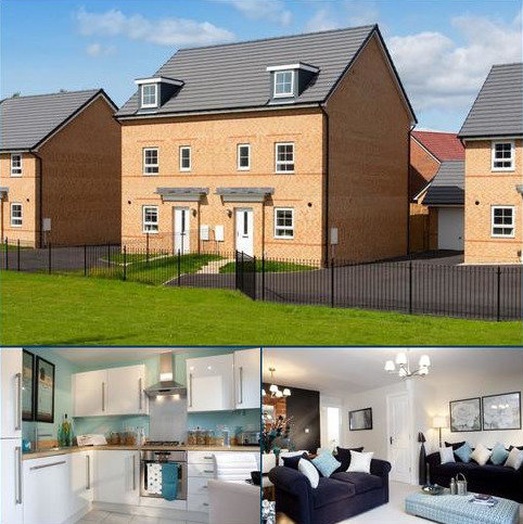 4 bedroom semi-detached house for sale - Plot 335, Woodcote at Lloyd Mews, Dunnocksfold Road, Alsager, STOKE-ON-TRENT ST7
