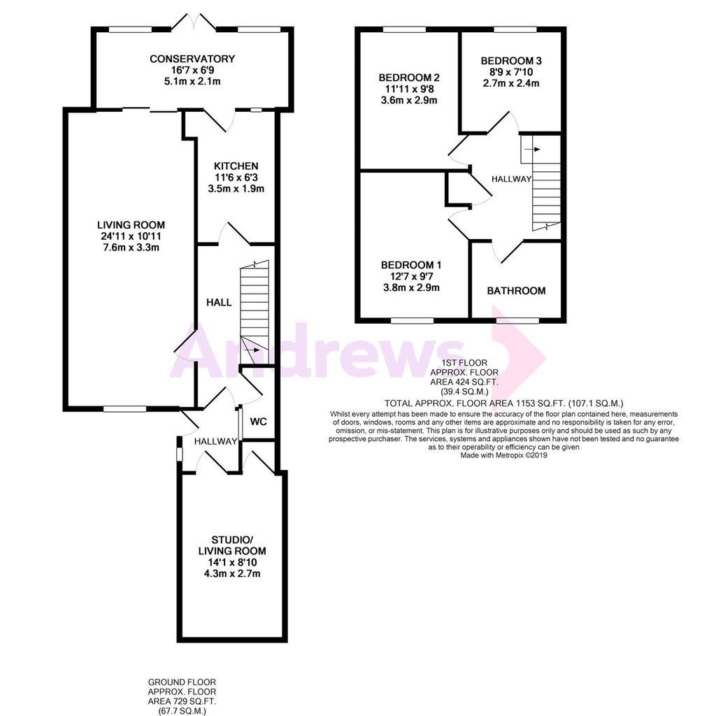 Floorplan: FP 17 Poulton Place