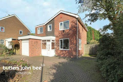 4 bedroom detached house for sale - York Road, Weston Coyney, ST3 6NW