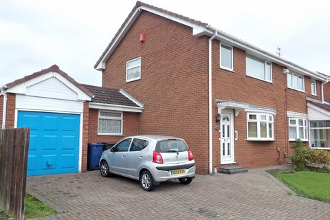 3 bedroom semi-detached house for sale - Sandalwood, WHITELEAS, South Shields, Tyne and Wear, NE34 8UH