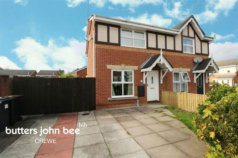 3 bedroom semi-detached house for sale - Hughes Drive, Crewe