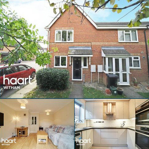 2 bedroom end of terrace house for sale - Barleyfields, Witham, CM8