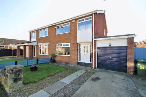 3 bedroom semi-detached house for sale - Scampton Close, Stockton-On-Tees