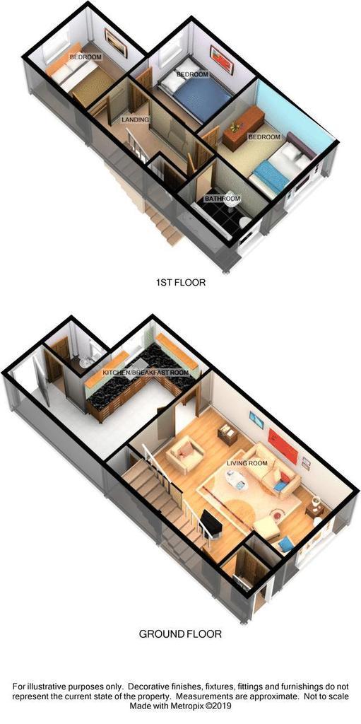 Floorplan 1 of 2: 3d
