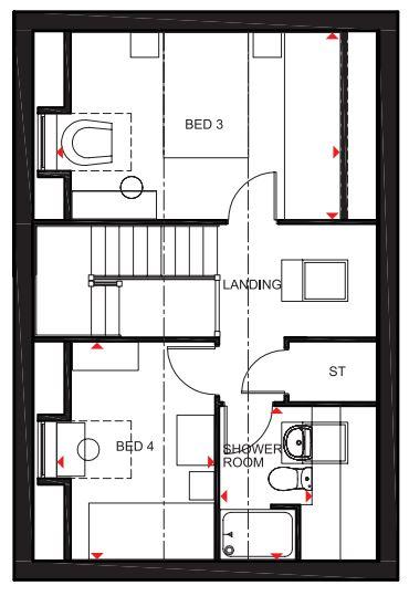 Floorplan 1 of 3: Second Floor