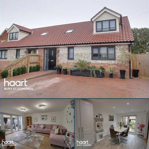 3 bedroom semi-detached house for sale - Quaker Lane, Bardwell, Bury St Edmunds