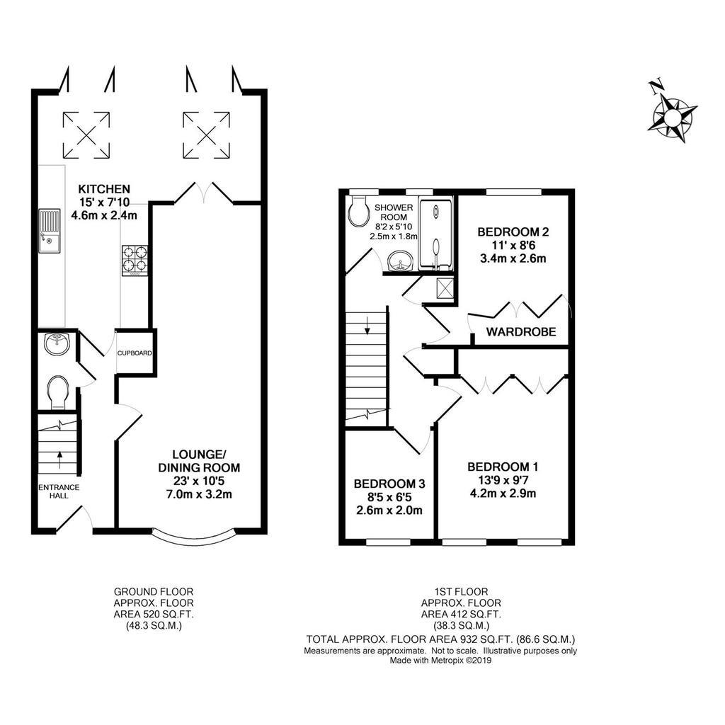 Floorplan: Metropix13039016