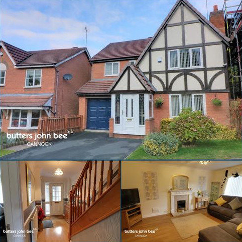 4 bedroom detached house for sale - Albany Drive, Cannock