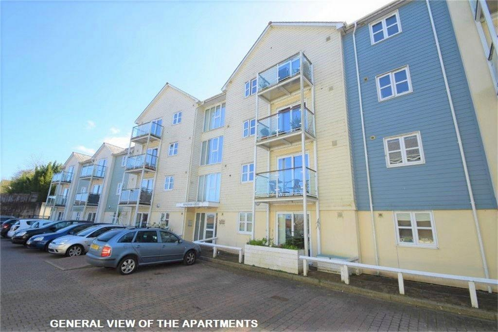 penryn, cornwall 1 bed flat for sale - 142,000