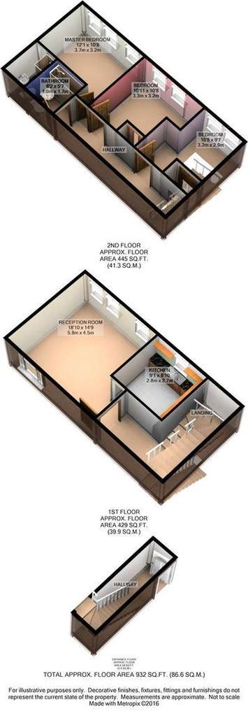 Floorplan 2 of 2: Floor Plan 3 D