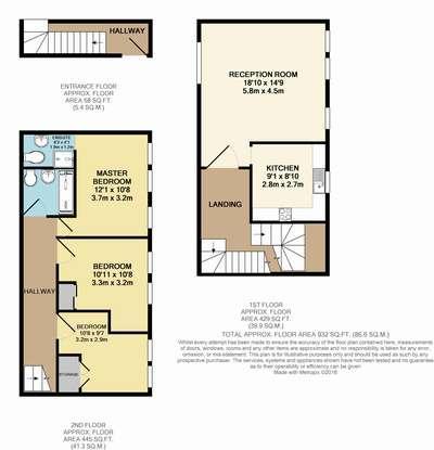 Floorplan 1 of 2: Floor Plan 3 D
