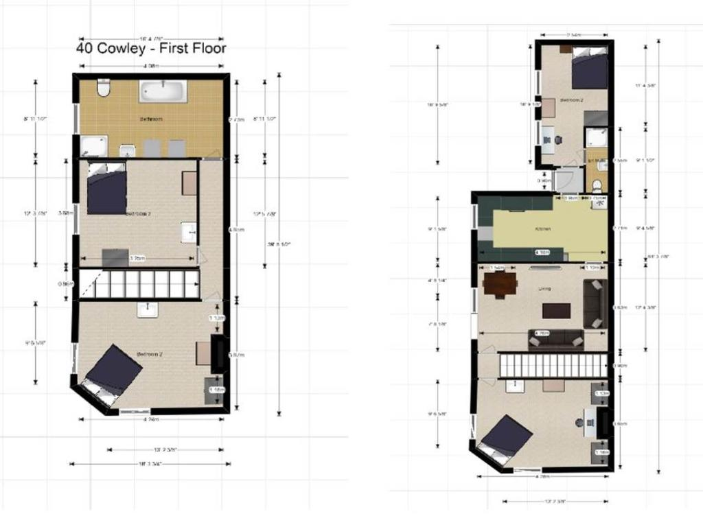 Floorplan: 40 Cowley Street   Floorplan