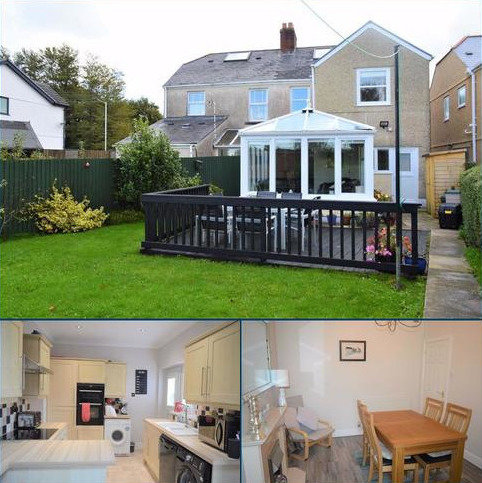 4 bedroom semi-detached house for sale - Homeleigh, Llanmorlais, Swansea