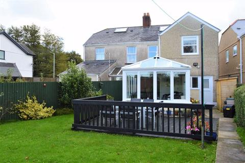 4 bedroom semi-detached house for sale - Homeleigh, Llanmorlais, Swansea