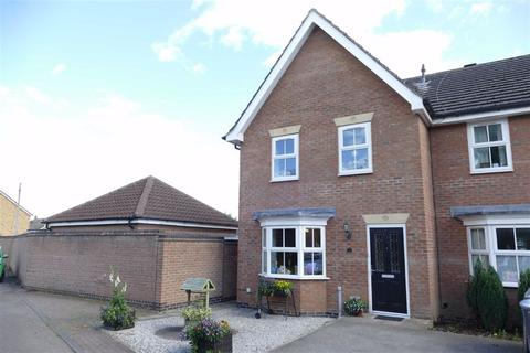 3 bedroom end of terrace house to rent - Sandfield Green, Market Weighton