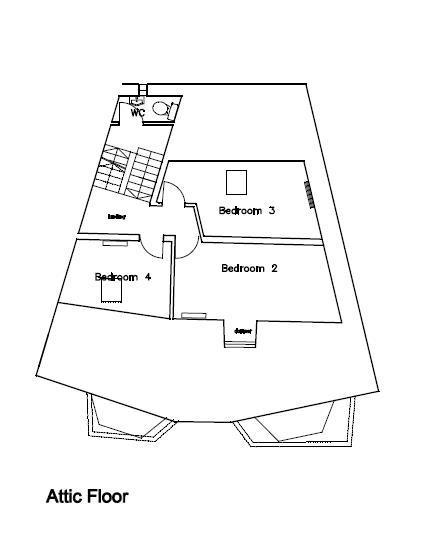 Floorplan 4 of 4: Attic