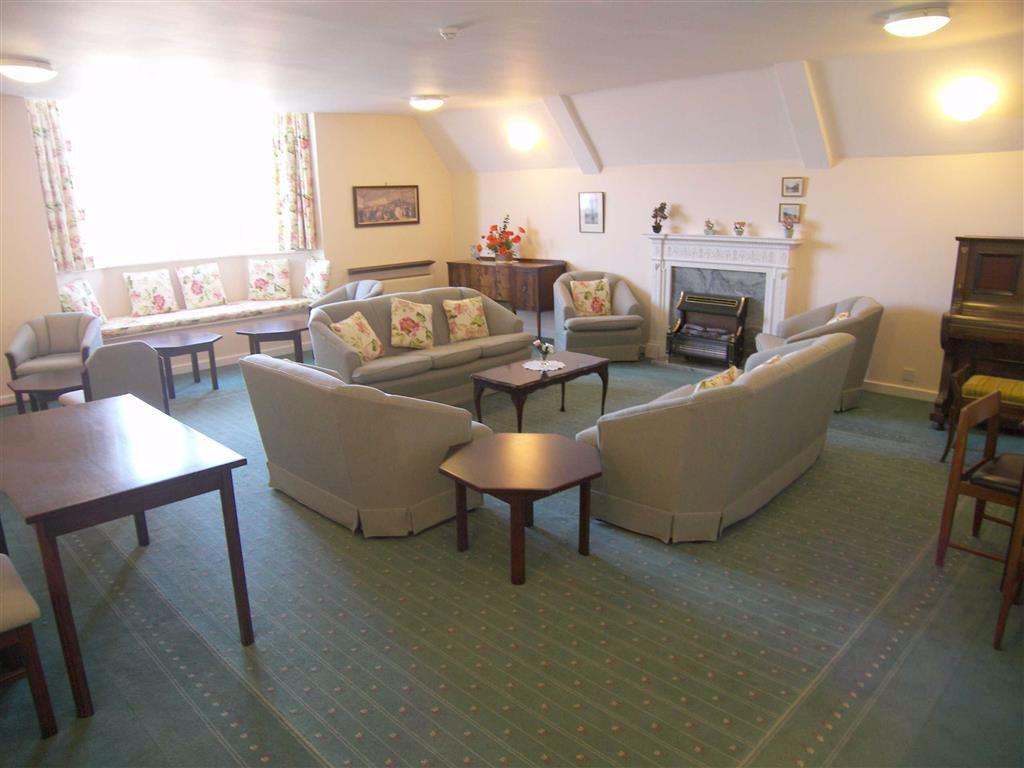 Upper day room