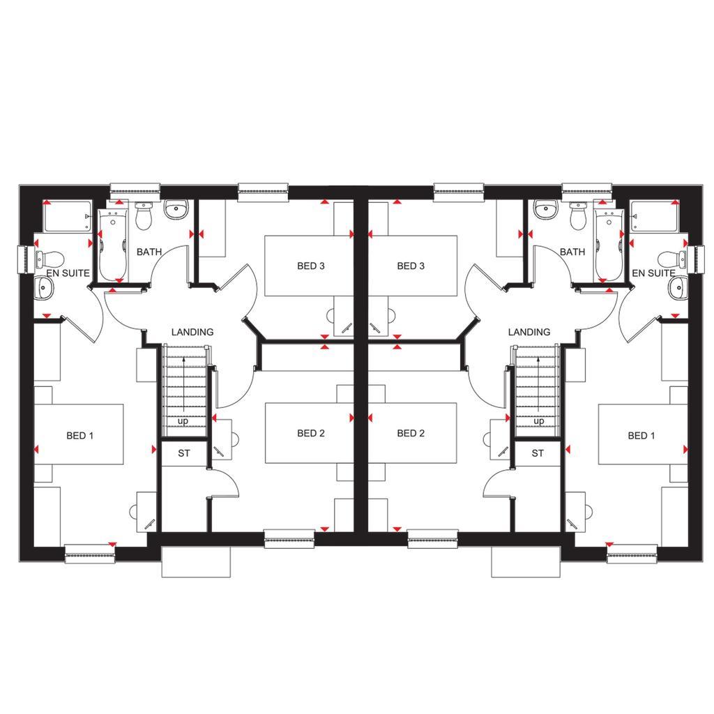 Floorplan 2 of 2: Ravenscraig semi 2018