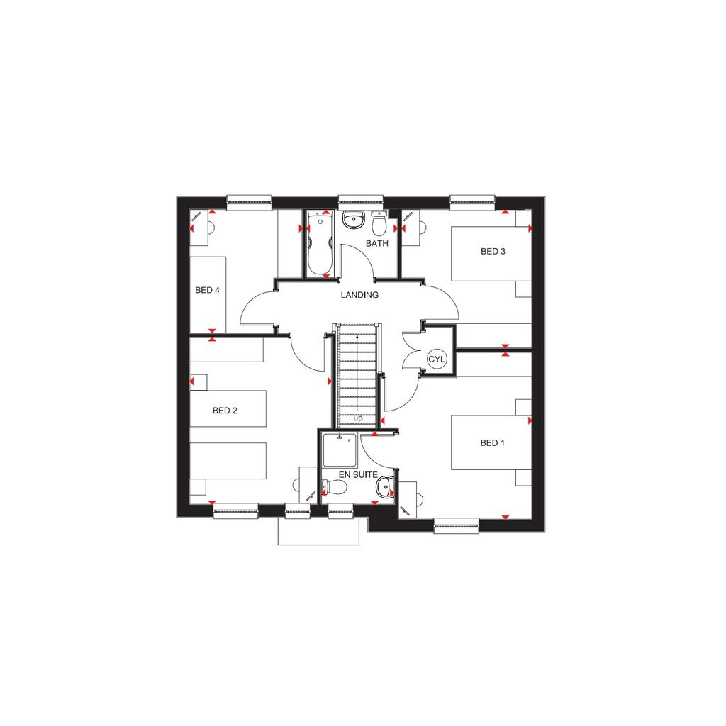 Floorplan 2 of 2: Balmoral FF 2019