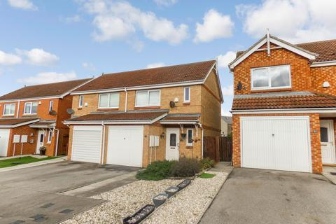 2 bedroom semi-detached house for sale - The Chequers, Consett, Durham, DH8 7EQ