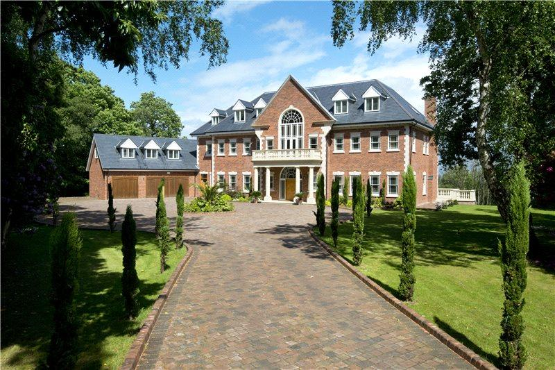7 Bedrooms Detached House for sale in Rodona Road, St. George's Hill, Weybridge, Surrey, KT13