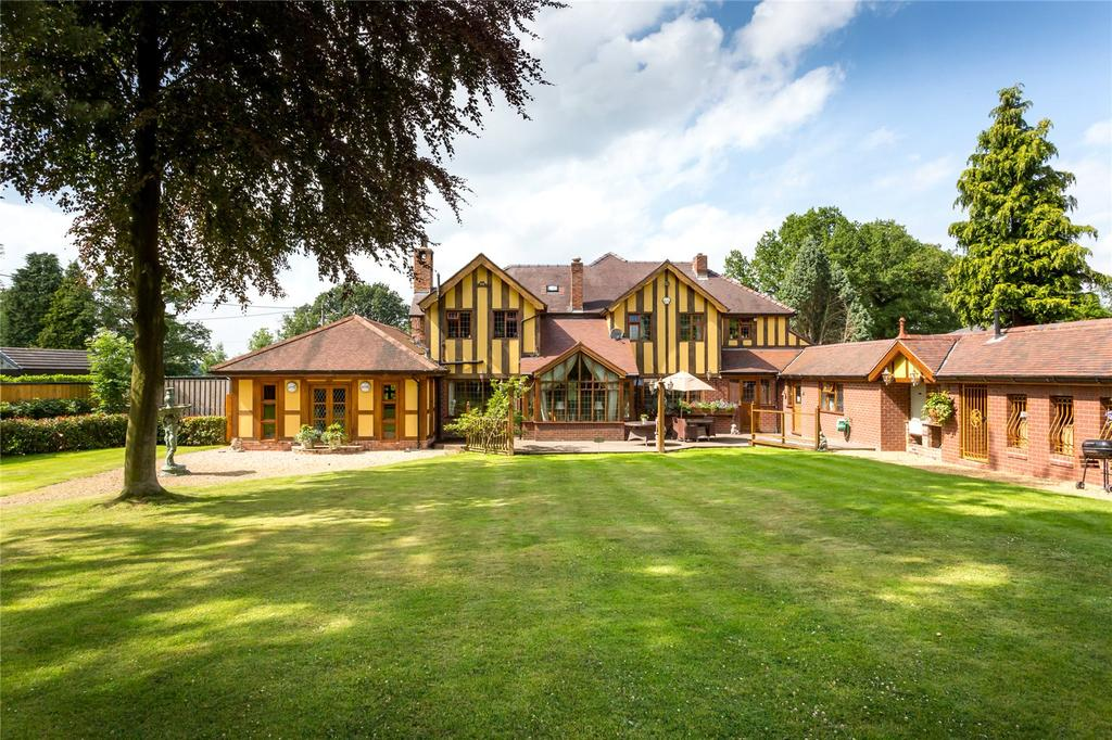 5 Bedrooms Unique Property for sale in Brookledge Lane, Adlington, Macclesfield, Cheshire, SK10