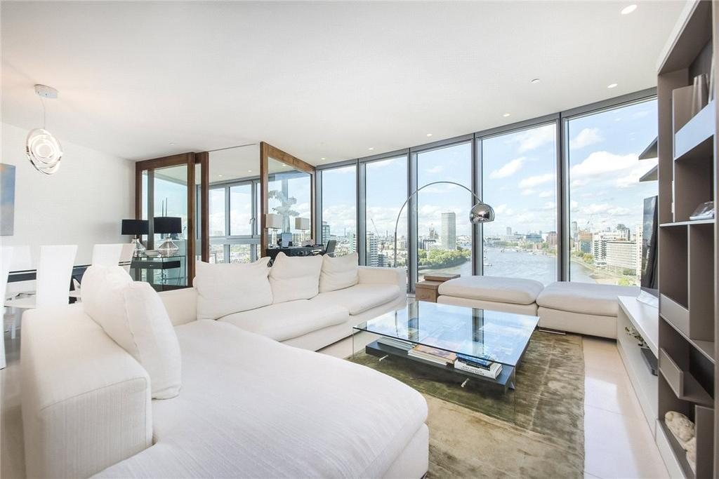 3 Bedrooms Flat for sale in The Tower, One St George Wharf, Vauxhall, London, SW8
