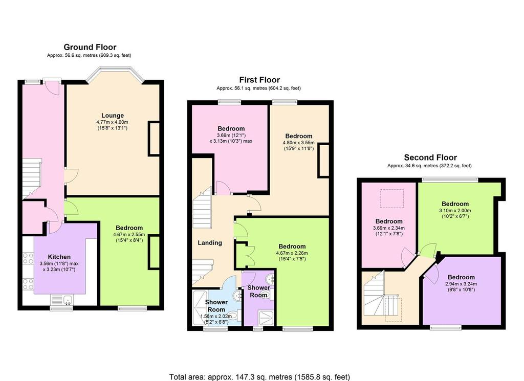Floorplan: 383 B Crookesmoor Road,   Sheffield.jpg
