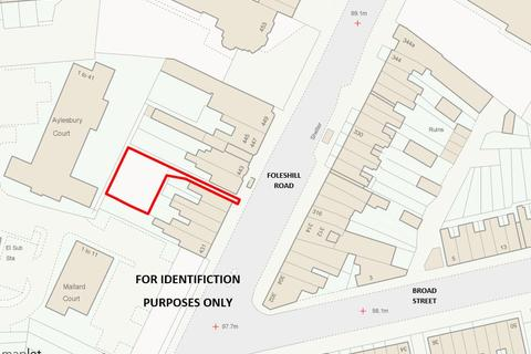 Land for sale - Land to the rear of Foleshill Road, Coventry, CV6 5AQ