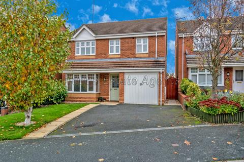 4 bedroom detached house for sale - Canterbury Drive, Rugeley