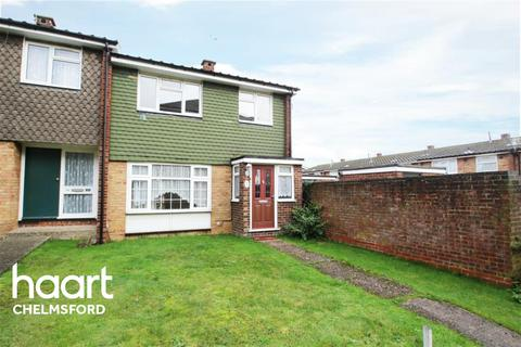 3 bedroom end of terrace house to rent - West Lawn, Chelmsford