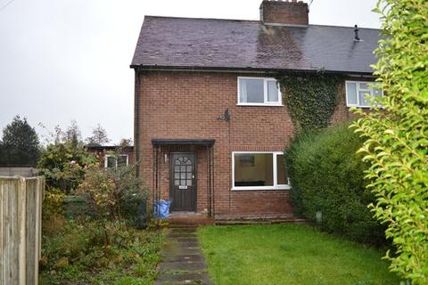 3 bedroom end of terrace house for sale - Clifford Road, Market Drayton TF9