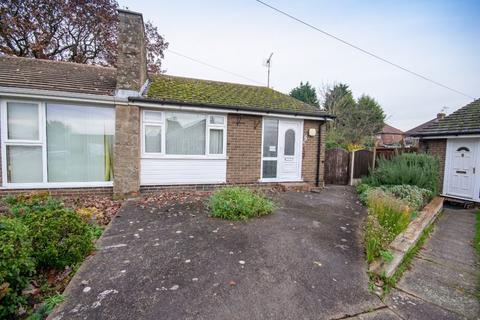 2 bedroom semi-detached bungalow for sale - BORROWFIELD ROAD, SPONDON