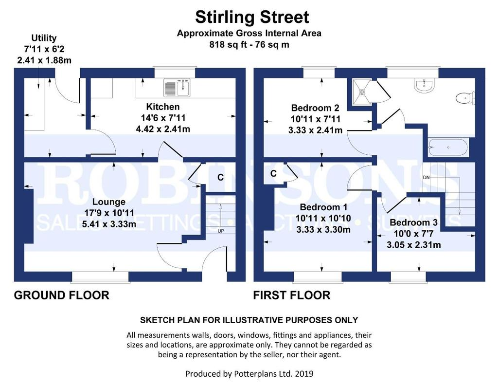 Floorplan: Stirling Street Plan