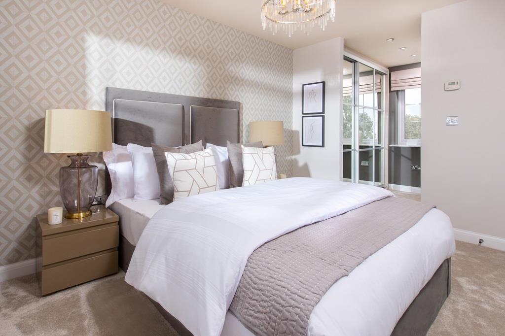 The Glassworks internal bedroom