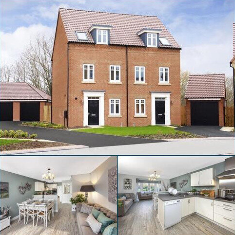 3 bedroom semi-detached house for sale - Plot 174, GREENWOOD at The Drive at Mount Oswald, South Road, Durham, DURHAM DH1