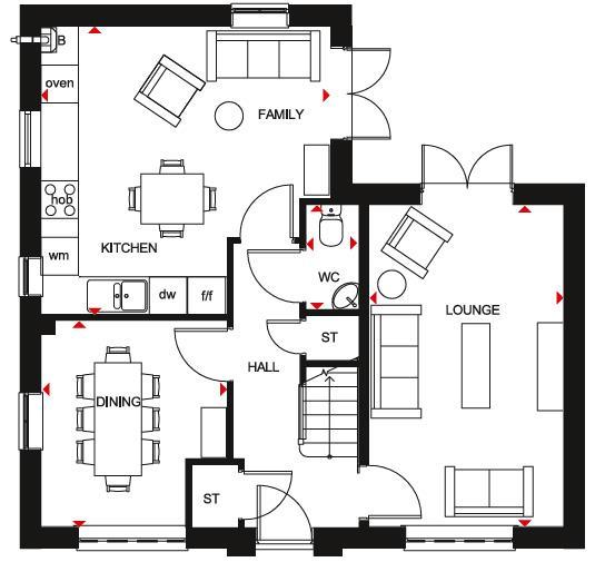 Floorplan 1 of 2: Alderney GF Plan