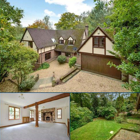 4 bedroom detached house for sale - Hocombe Drive, Chandler's Ford, Eastleigh, Hampshire, SO53