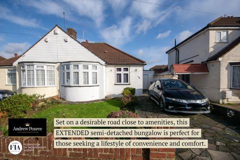 2 bedroom semi-detached bungalow for sale - Uppingham Avenue, Stanmore