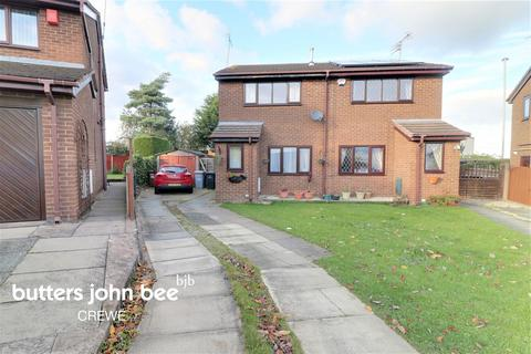 2 bedroom semi-detached house for sale - Rochester Crescent, Crewe